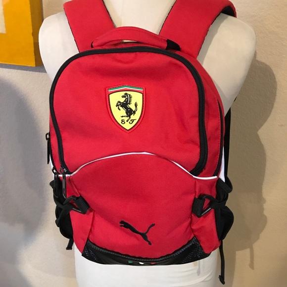 e996d4249086 Kids puma Ferrari backpack 🎒. M 5a3bf9d8331627787400f70d